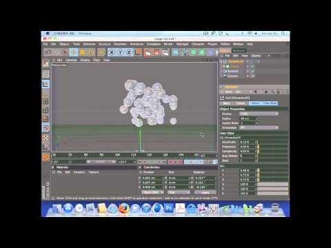 Create an animation using dynamics in Cinema 4D (2 of 7)