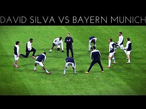 David Silva vs Bayern Munich (A) 2013-2014 UCL HD