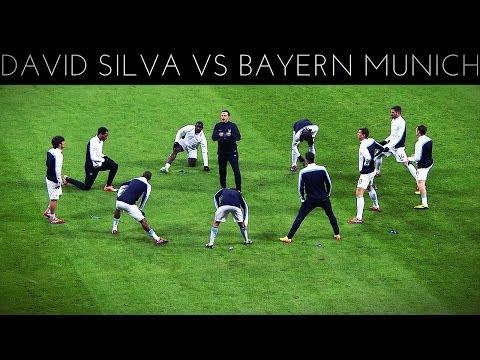 David Silva vs Bayern Munich (A) 2013-2014 UCL HD