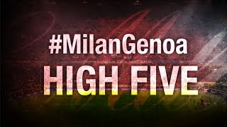 High Five #MilanGenoa | AC Milan Official