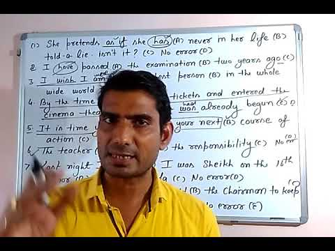 Time & tense 30 learn basic English grammar with examples in hindi by GP DIXIT