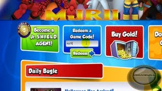 Marvel Super Hero Squad Online Free Two Week Membership Code- HD