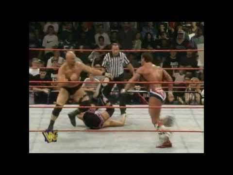Shawn Michaels and Stone Cold Steve Austin Vs. Owen Hart and British Bulldog 5/26/97