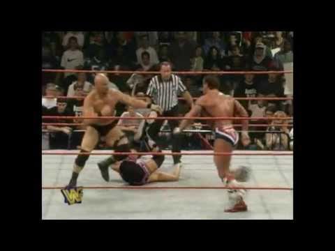 Shawn Michaels and Stone Cold Steve Austin Vs. Owen Hart and British Bulldog 5/26/97