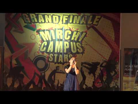 Singing at VIT Campus, Jaipur