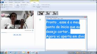 Tutorial : Como Cortar Vídeos No Windows Live Movie Maker