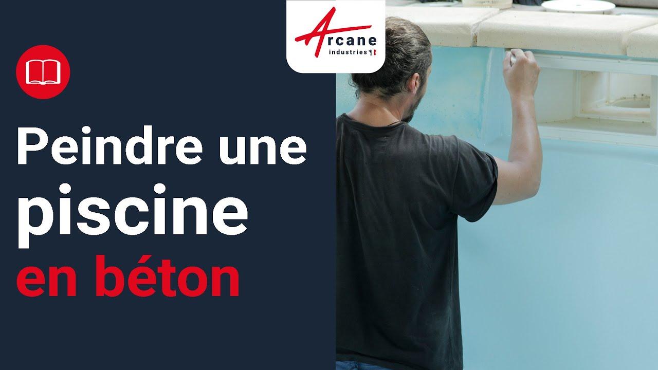 peinture piscine protection et d coration support b ton et ciment mise en oeuvre facile youtube. Black Bedroom Furniture Sets. Home Design Ideas