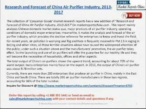 Air Purifier China Market China Air Purifier Industry