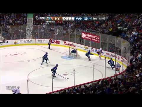 New York Islanders vs Vancouver Canucks 10.03.2014