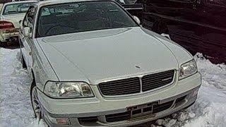 ✈NISSAN LEOPARD JY33型 Junkyard car 日産レパード