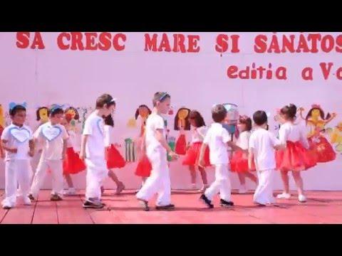 Dans copii grupa mijlocie, gradi nr.13 Alba Iulia, iun. 2013