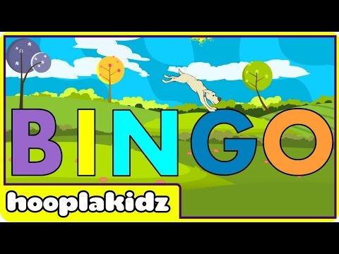 Bingo | Nursery Rhymes | Bingo Rhymes For Children by Hooplakidz
