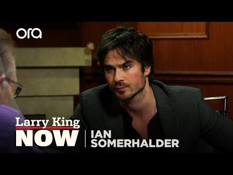 "Ian Somerhalder on ""Larry King Now"" - Full Episode Available in the U.S. on Ora.TV"