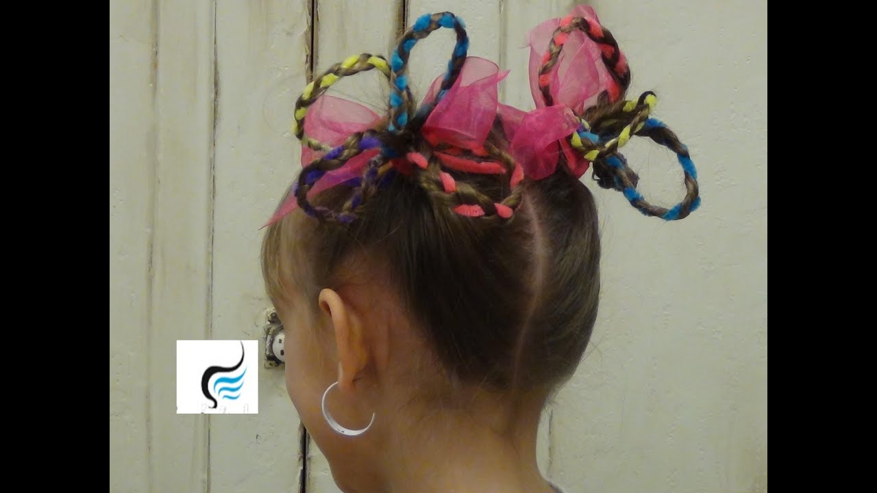 Easy hairstyle for long hair for school