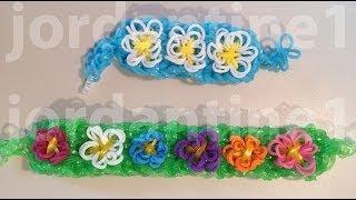 New Spring Flower Bracelet Advanced Tutorial Rainbow