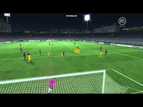 Kỹ thuật đá phạt FIFA Online 3