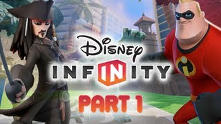 Disney Infinity Gameplay Walkthrough Part 1 Introduction