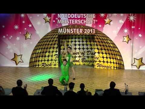 Sabrina Walgenbach & Moritz Schneider - Norddeutsche Meisterschaft 2013