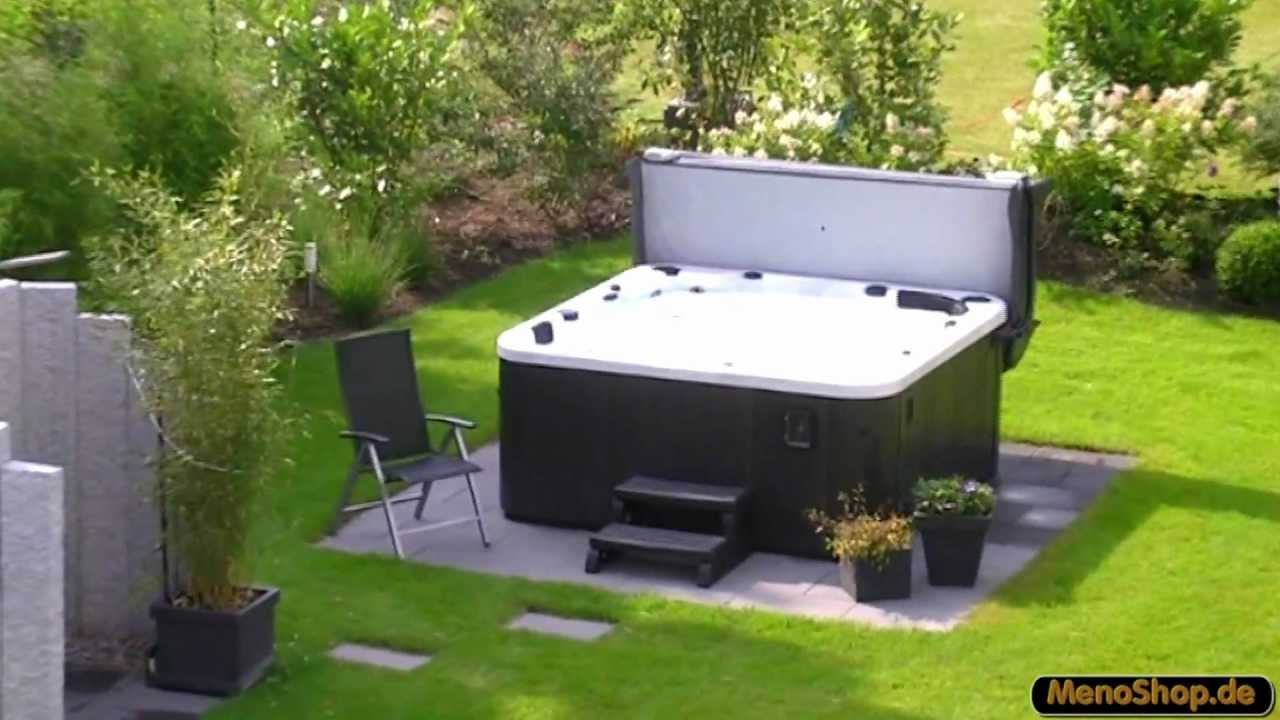 outdoor whirlpool g nstig kaufen spa serie jacuzzi outdoor whirlpool youtube. Black Bedroom Furniture Sets. Home Design Ideas