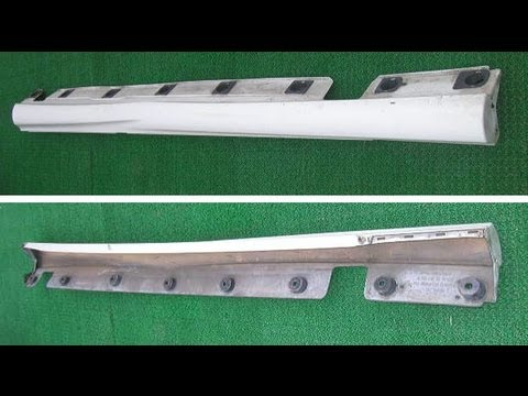 Mercedes Benz W221  AMG Left Side Skirt For Sale in Japan