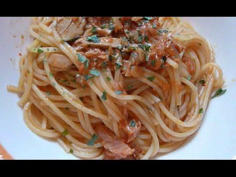 Spaghetti al tonno classici