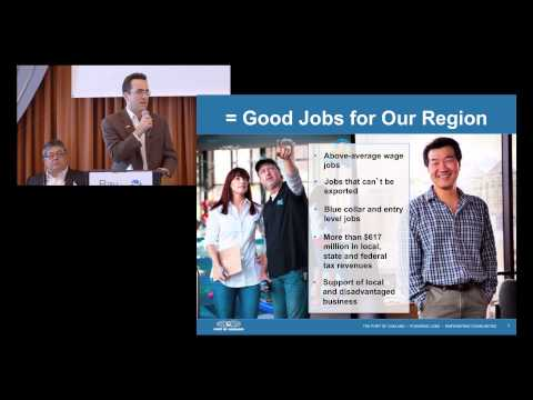 DMC 2013: Panel #3: Modern Infrastructure + Trade = JOBS