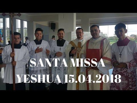 18° Yeshua | Santa Missa | Padre Rogério José Pereira | ANSPAZ