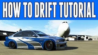 Demonstrating How To Drift In Forza 5 (Best Tutorial