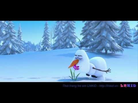 Phim hoạt hình 3D - Nữ hoàng băng giá, Frozen - Thời trang trẻ em LNKID chia sẻ