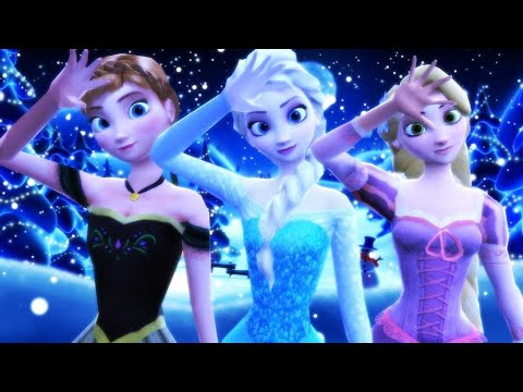 【MMD Disney】Ievan Polkka【Feat. Frozen & Tangled】