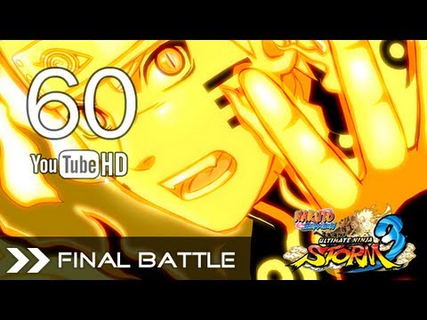Naruto Shippuden Ultimate Ninja Storm 3 - Naruto Bijuu VS Tobi(+All Tailed Beasts) Final Battle