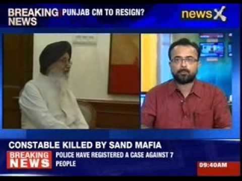 Punjab CM Parkash Singh Badal to resign