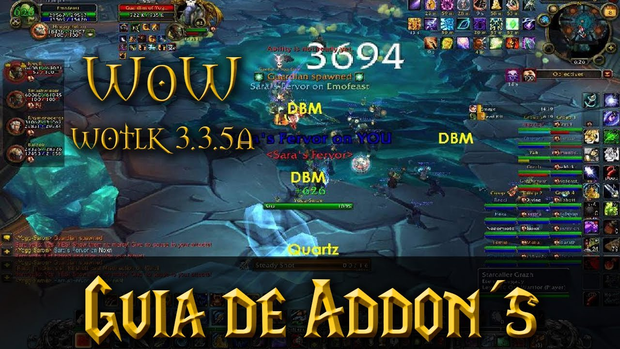 Addons Wow 3.3.5a