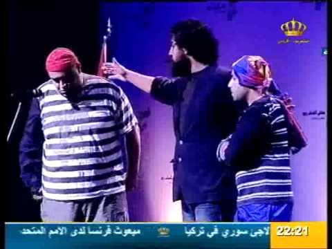 الفنان احمد سرور وجه لوجه مع جلالة الملك