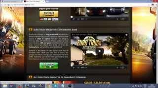 Euro Truck Simulator 2 : Free Full Game (EASY)