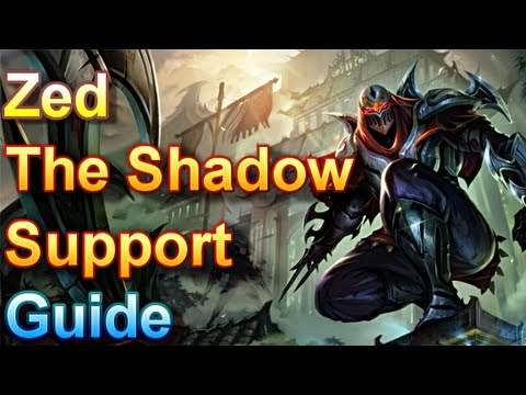 Zed The Shadow Support - League of Legends