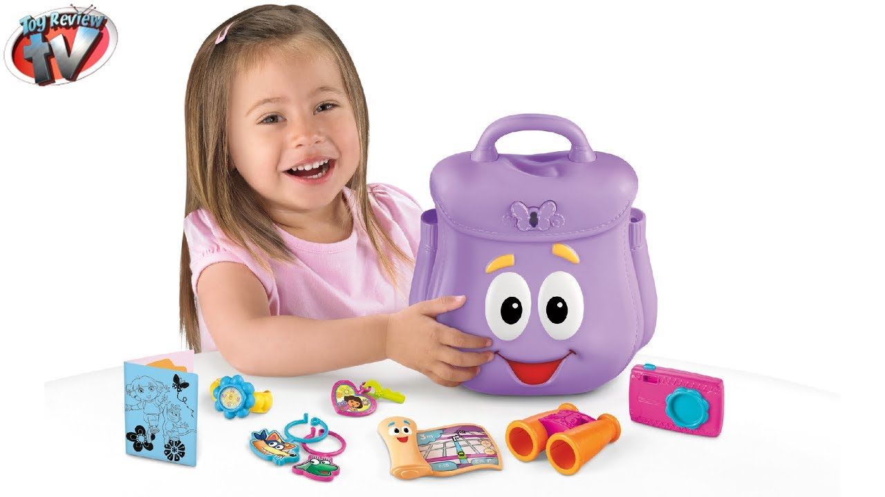 All Dora Toys : Dora the explorer backpack map adventure girls playset toy