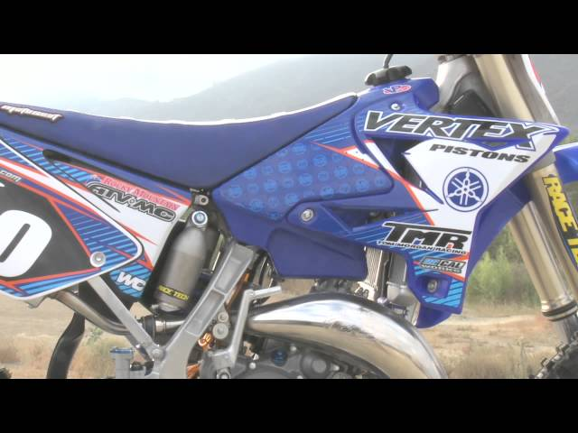 Racer X Tested Yamaha YZ 125