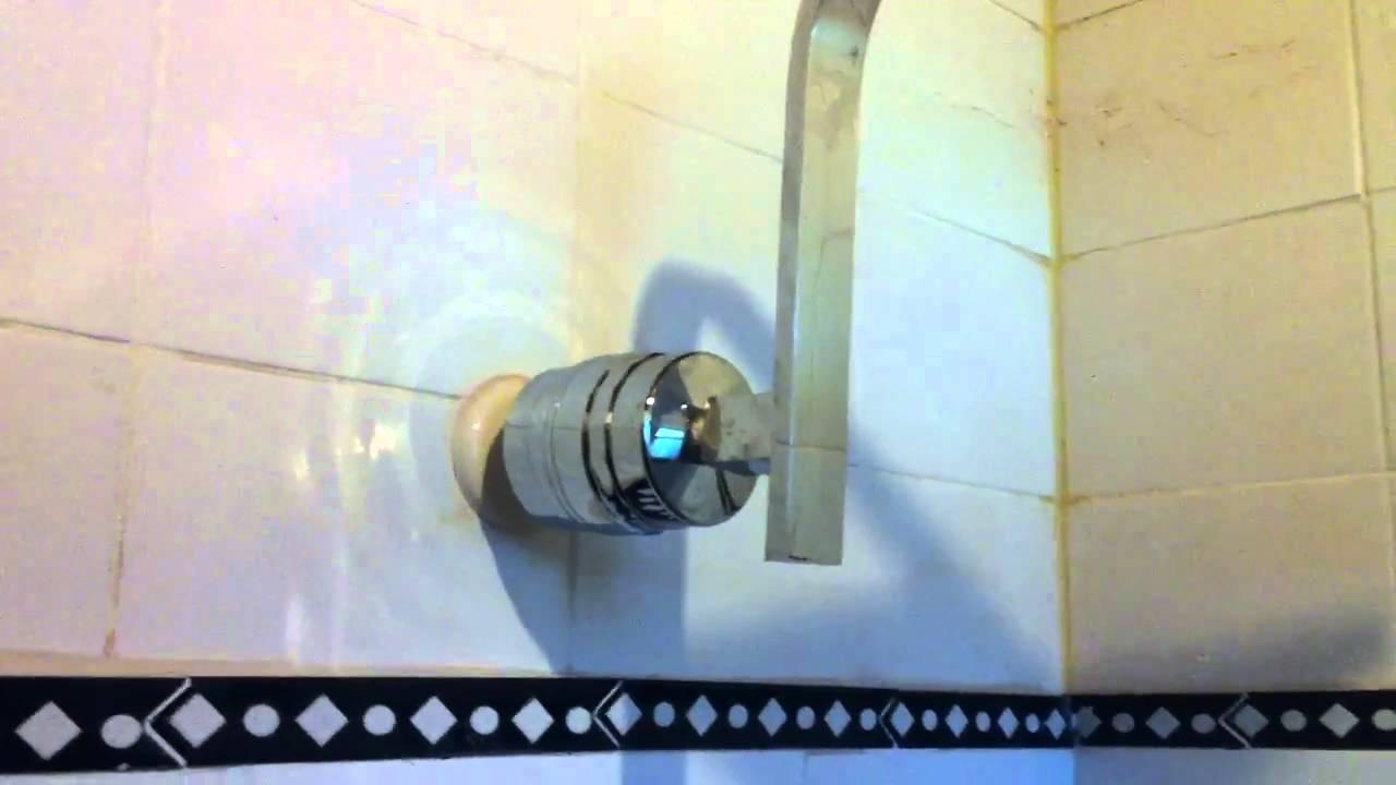 designer square rain like shower head sprite brass hoc shower water filter youtube. Black Bedroom Furniture Sets. Home Design Ideas