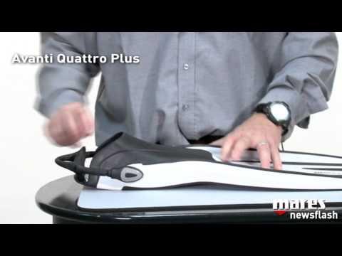 Mares Avanti Quattro Plus with Bungee Straps