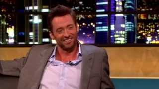Hugh Jackman & Jonathan Ross Sing Being Alive, Sort Of