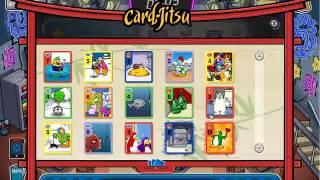 Club Penguin Como Hacer Una Carta De Card Jitsu