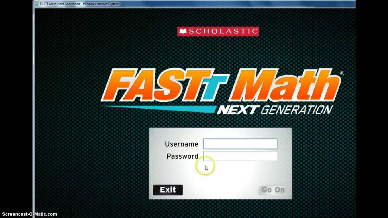 fastt math login