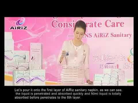 Băng vệ sinh cao cấp Airiz - Sự lựa chọn của phụ nữ thế kỷ 21