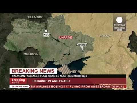 BREAKING: Malaysian Airlines plane 'shot down' in Ukraine near Russian border