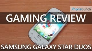 Samsung Galaxy Star Duos (GT-S5282) Gaming Review