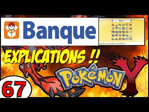 [EUROPE] BANQUE POKEMON - EXPLICATIONS - Pokémon X et Y + EVENEMENT CELEBI !