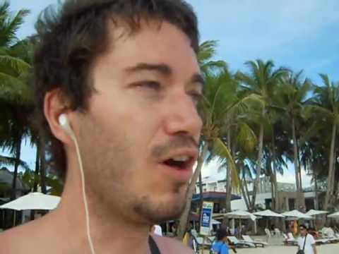 My Walking Beach Tour of Boracay Island in The Philippines ... ( I even interviewed a local ;)