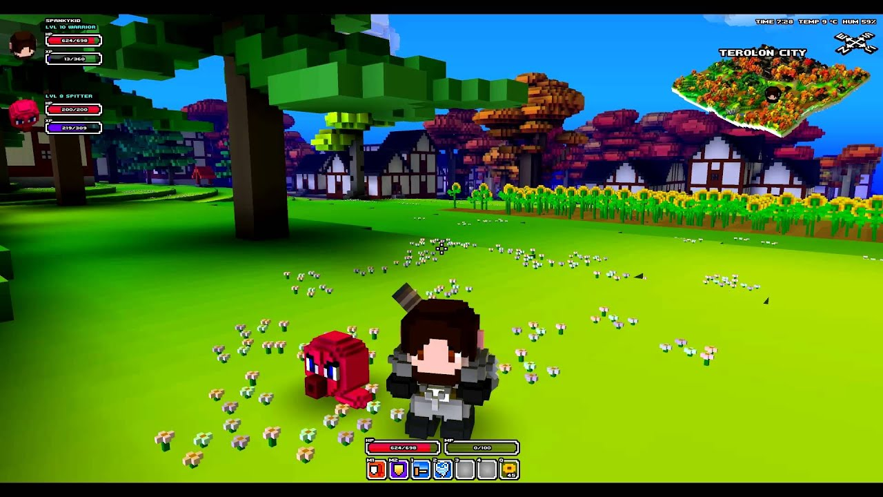 cube world how to ride pets