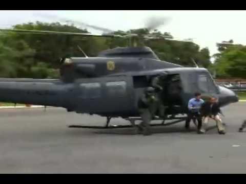 Policia Federal - Resgate aéreo - Segurança de dignitário (VIP)